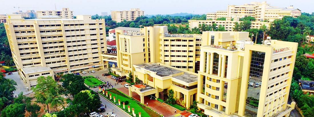 A.J. Hospital and Research Centre in Mangalore, Karnataka, India