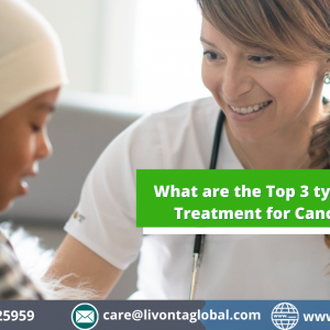 What are the Top 3 types of Treatment for Cancer?