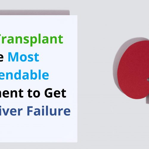 Liver Transplant the Most Dependable Treatment to Get Rid of Liver Failure